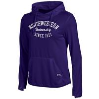 Under Armour Womens French Terry Pullover Hoodie
