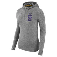 NIKE WOMANS LONG SLEEVE QUARTER ZIP