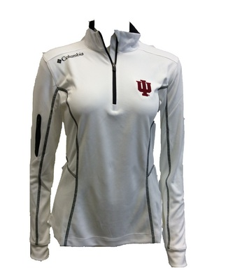 948ce5990e6 Columbia Omni Wick Shotgun Quarter Zip | Official IU Hoosiers Team Store