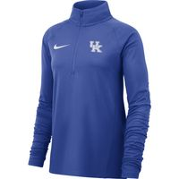 Nike Womens Half Zip Long Sleeve Tee