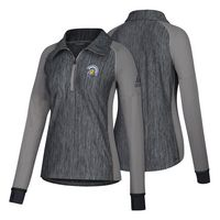 Adidas Womens Vertical Heather Quarter Zip