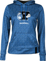 Baseball ProSphere Womens Sublimated Hoodie