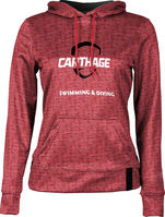 Swimming & Diving ProSphere Womens Sublimated Hoodie
