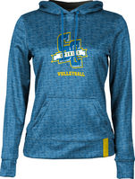 Volleyball ProSphere Womens Sublimated Hoodie