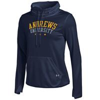 Under Armour Womens French Terry Pullover Stand Cowl