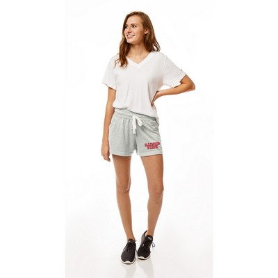 Red Shirt Pocket Shorts