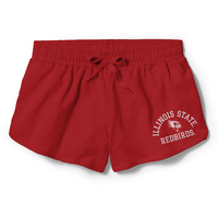Red Shirt Vented Short