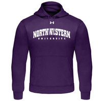 Northwestern Wildcats Under Armour Cold Gear Loose Fit Hoodie