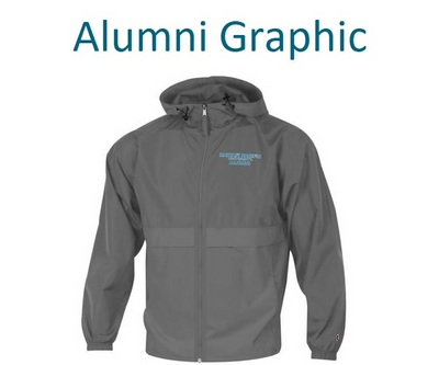 Champion Packable Full Zip Alumni Jacket