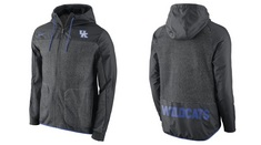 NIKE LONG SLEEVE FULL ZIP HOODED JACKET