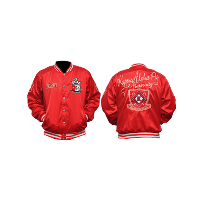 Big Boy Kappa Alpha Psi Satin Jacket