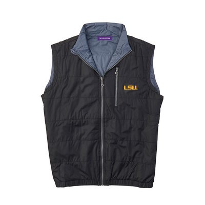 The Collection at LSU Quilted Reversible Vest