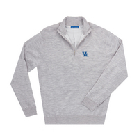 The Collection at Kentucky Merino Wind Block Quarter Zip
