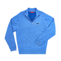 The Collection at SMU Merino Wind Block Quarter Zip