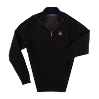 The Sewanee Tigers Collection Merino Wind Block Quarter Zip