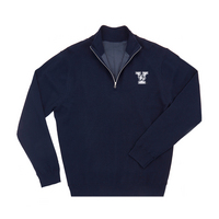 The Collection at Yale Merino Wind Block Quarter Zip