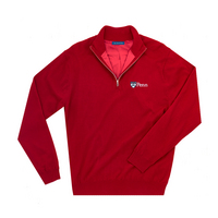 The Collection at the University of Pennsylvania Merino Wind Block Quarter Zip
