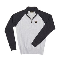 Leaders and Champions at Vanderbilt Merino Wind Block Raglan Quarter Zip