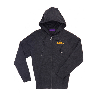 The Collection at LSU Merino Wind Block Full Zip