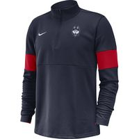 Nike College Therma Half Zip Top