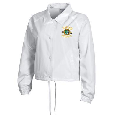 Champion Womens Cropped Coaches Jacket