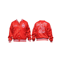 Big Boy Delta Sigma Theta Satin Jacket