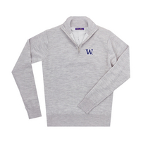 The Collection at Washington Merino Wind Block Quarter Zip