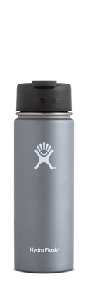 HYDRO FLASK 20 OZ WIDE MOUTH WITH FLIP LID GRAPHITE