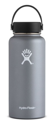 Hydro Flask 32oz Wide Mouth with Flex Lid  Graphite