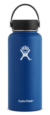 Hydro Flask 32oz Wide Mouth with Flex Lid  Cobalt