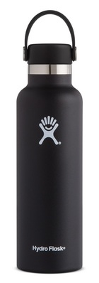 Hydro Flask 21oz Standard Mouth with Flex Lid  Black