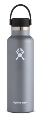 Hydro Flask 21oz Standard Mouth with Flex Lid  Graphite