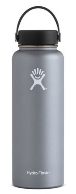 Hydro Flask 40oz Wide Mouth with Flex Lid  Graphite