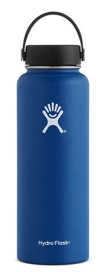 Hydro Flask 40oz Wide Mouth with Flex Lid  Cobalt
