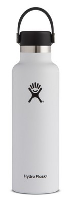 Hydro Flask 21oz Standard Mouth with Flex Lid  White