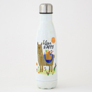 Natural Life Water Bottle LLive Happy Llama
