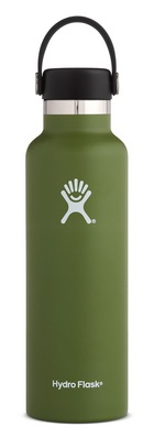 Hydro Flask 21oz Standard Mouth with Flex Lid  Olive