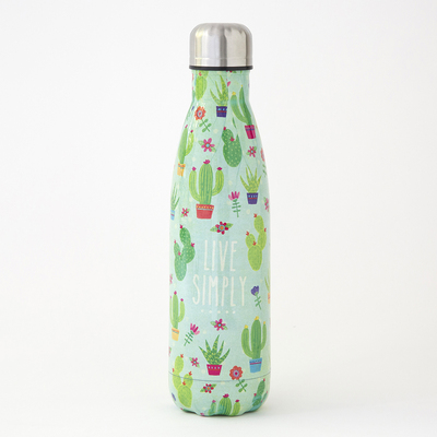 Water Bottle Live Simply Cactus