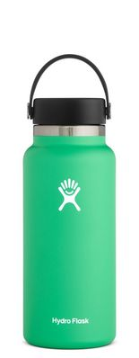 HYDRO FLASK 32 OZ WIDE MOUTH WITH FLEX CAP SPEARMINT 2.0