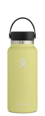 HYDRO FLASK 32 OZ WIDE MOUTH WITH FLEX CAP PINEAPPLE 2.0