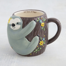 Natural Life Folk Mug Sloth