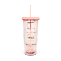 Bando Sip sip tumbler with straw (24 oz.), drinking enough water