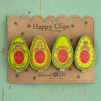 Natural Life Happy Clips Avocado
