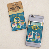 Phone Pocket Ring No Drama Llama