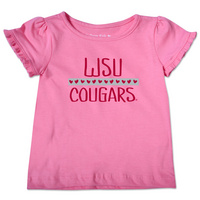 College Kids Infant Ruffle Tee
