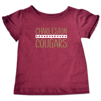 College Kids Infant Ruffle Tee (Online Only)
