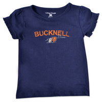 College Kids Toddler Ruffle Tee (Online Only)