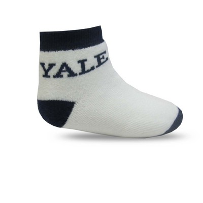 Yale Bulldogs TopSox Baby Bootie