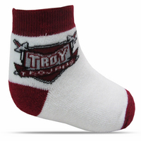 Troy University TopSox Baby Bootie
