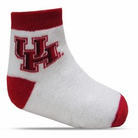 Houston Cougars TopSox Baby Bootie